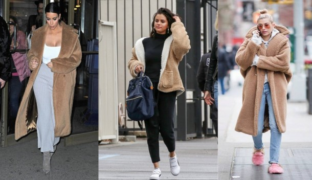 City Girl Vibe x Celebs wearing the teddy bear trend