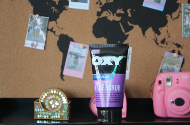 City Girl Vibe x OXY Anti Spot Face Scrub Review
