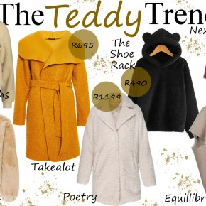 Fashion Friday: The Teddy Trend