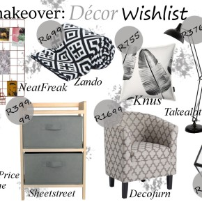 A city girl's guide to a room makeover + décor wishlist.