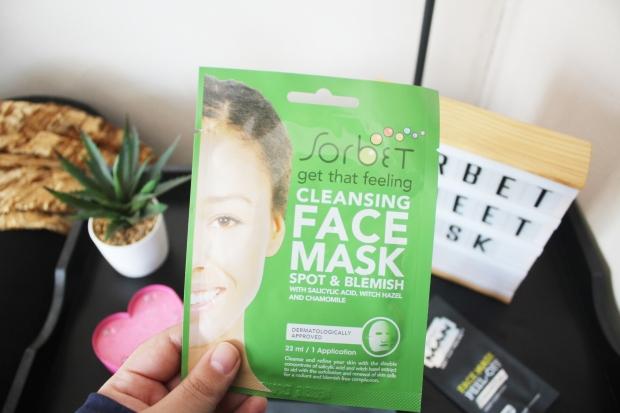 City Girl Vibe x Sorbet Cleansing Sheet Mask