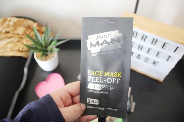 City Girl Vibe x Sorbet Man Face Mask Peel Off