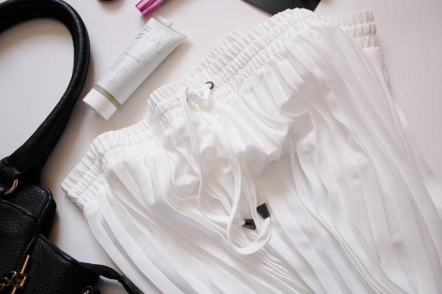 City Girl Vibe x Woolworths Pleated Midi Skirt