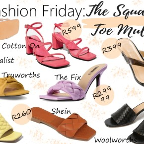Fashion Friday: The Square Toe Mule